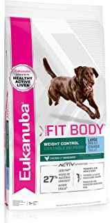 Eukanuba Fit Body Weight Control Large Breed Dry Dog Food