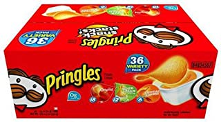 Pringles Potato Chips - 36 pk / 0.74oz Tubs