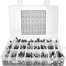 24Value 500pcs Electrolytic Capacitor Assortment Box Kit Range 0.1uF-1000uF