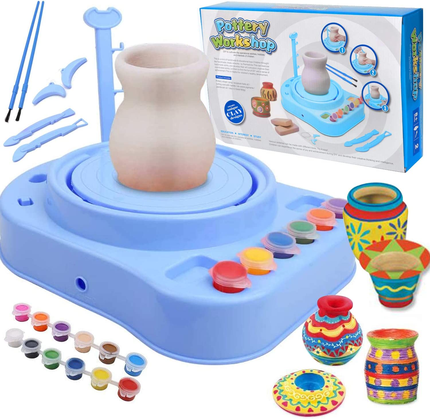 YONGSHUO Pottery San Diego Mall Wheel for Kids Arts excellence Do Art Studio and