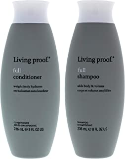 Living Proof Full Shampoo and Conditioner Kit - 2 Pc Kit 8oz Shampoo, 8oz Conditioner