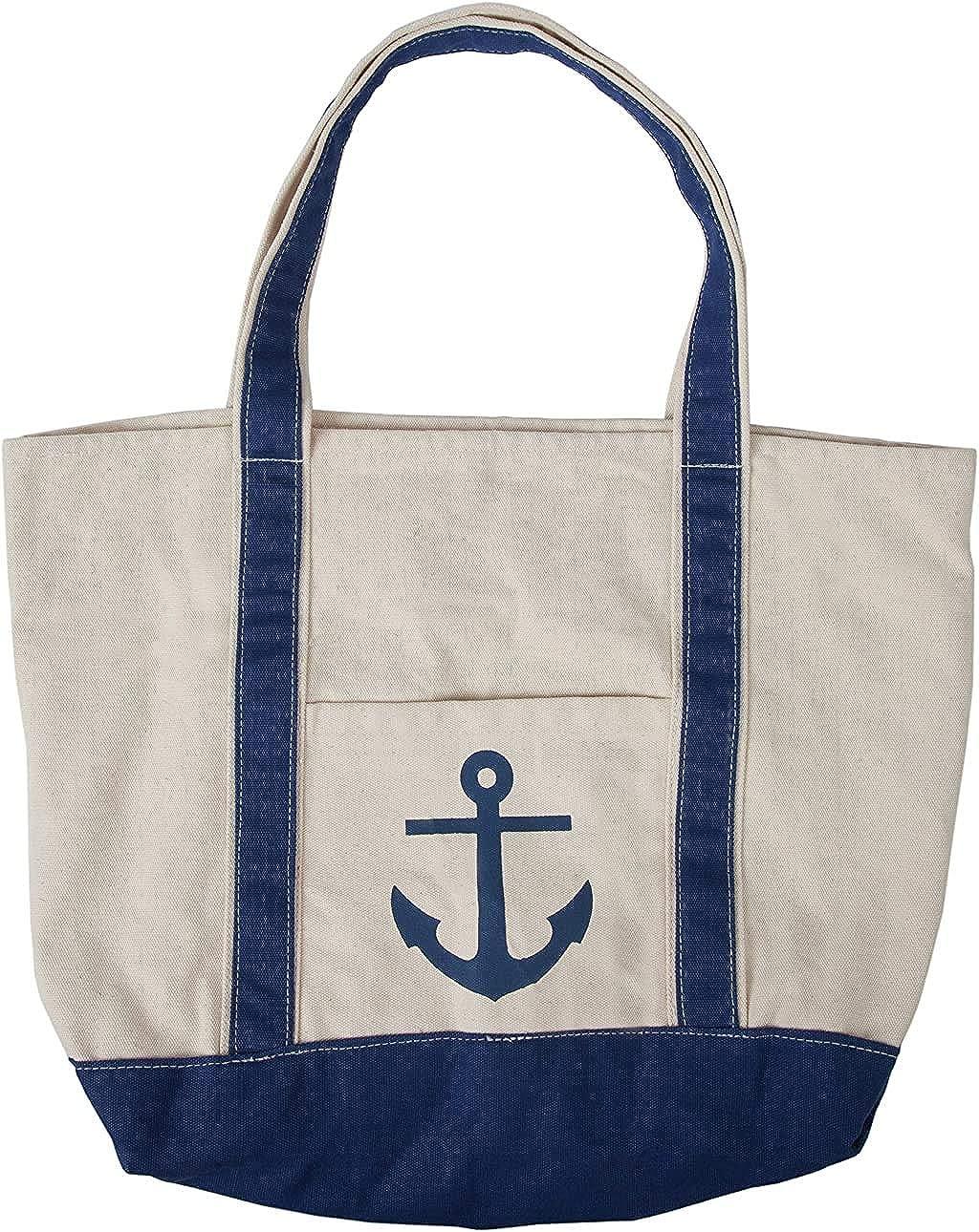SC Recreational Canvas Anchor Brand Cheap Sale Venue Beach Bag with Tote Pool Car Max 45% OFF -XL