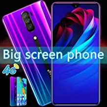 L-PH Android 6.3 inch Big Screen Fingerprint Face Unlock Phone/4800mAh 10 Core 4G LTE +Dual SIM Smart Phone Blue (Color : 3+64g)