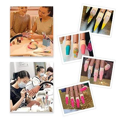 Nail Training Hand for Acrylic Nails,Practice Hand Kits