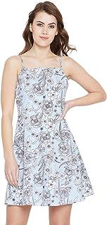 فستان للنساء مقاس M , متعدد الالوان - فساتين عملية كاجوال