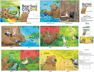 Elizabeth's Studio Bear Sees Colors 36'' Book Panel Multi