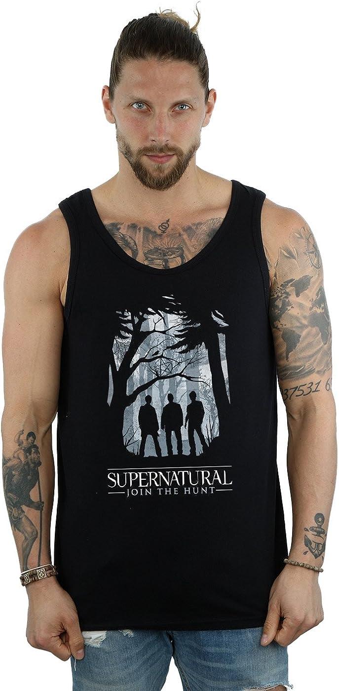 Supernatural Men's Group Outline Tank Top