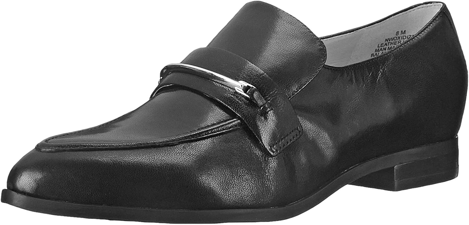 Nine West Women's Oxidize Pointy Toe Loafers Brown