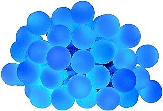 Gosear 4M 40 LED Globo de Hadas de la Secuencia de Las Luces con Pilas luz de la Decoración para la Fiesta de Navidad del Jardín al Aire Libre Decoración de la Boda Azul