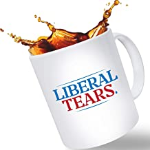 """Father's Day Gift Mugs for Dad – """"Lib Tears"""" Funny Novelty Coffee Mug 