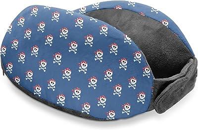 YouCustomizeIt Blue Pirate Travel Neck Pillow