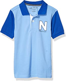 Nautica Boys Colorblock Polo Short Sleeve Polo Shirt