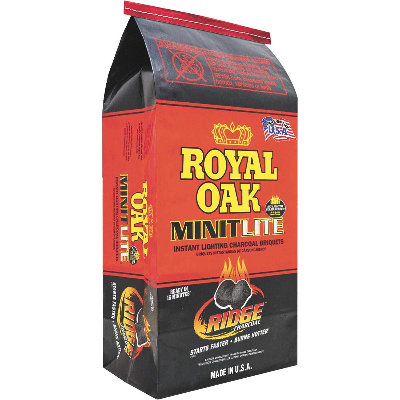 Royal Oak 198-200-047 SALENEW Max 82% OFF very popular Minit Charcoal Lite Briquets