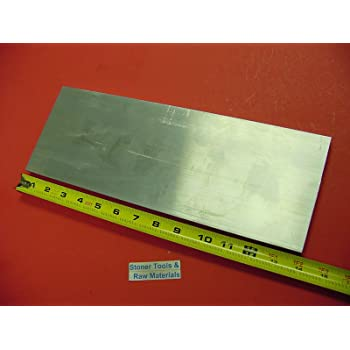 """3//4/"""" X 4 5//8/"""" x 10 5//8/""""   ALUMINUM 6061 Solid Plate Stock .75 thick"""