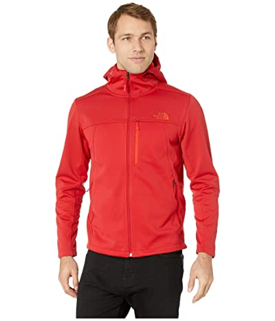 The North Face Apex Canyonwall Hybrid Hoodie (Rage Red/Rage Red) Men
