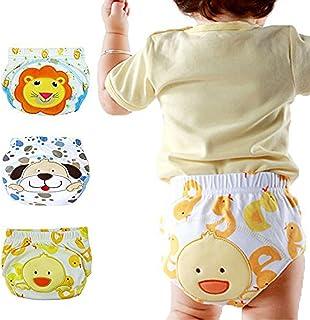 Coodebear Baby Pants Children's Training Pants Leak Proof Underpants Diaper Pants Underwear 3 Pack