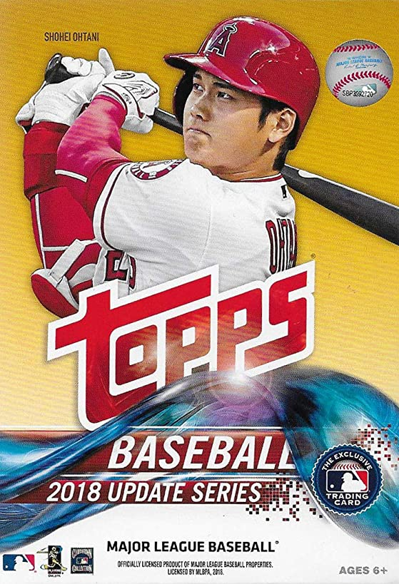 2018 Topps Update Series Baseball Factory Sealed Hanger Box 72 Cards per Box Including 2 Retail Exclusive Legends in The Making Cards Possible Autos, Game Used Relic Cards More