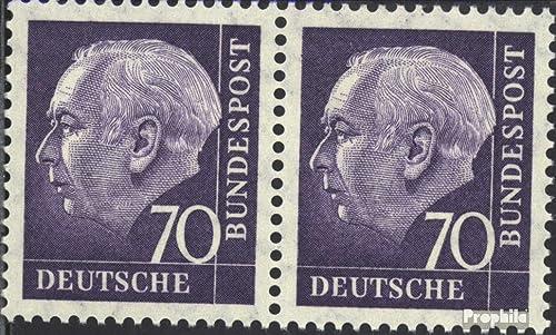 con 60% de descuento Prophila Collection RFA (RFA.Alemania) 263x Horizontal Pareja 1958 Heuss Heuss Heuss (Sellos para los coleccionistas)  Precio por piso