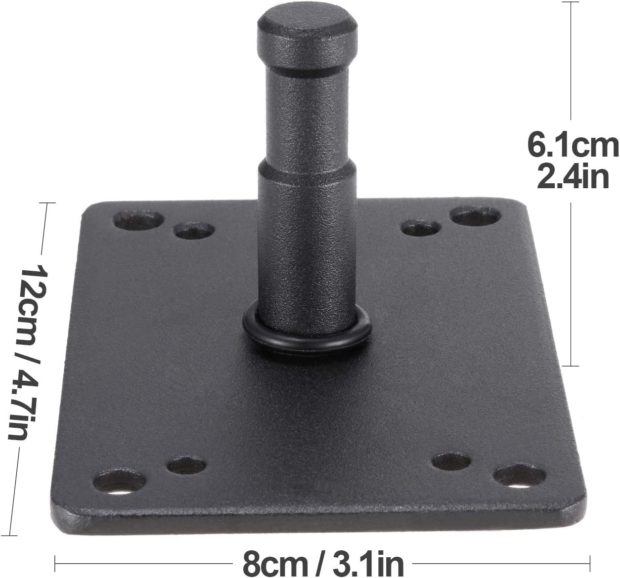 6.2 inch Baby Plate M11-027C Lighting Wall Holder Mini Light Stand Stud for Photo Studio Flash Accessories Youngerfoto Baby Pin Wall Plate