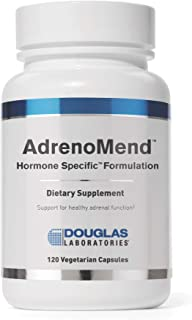 Douglas Laboratories - AdrenoMend - Ten Herbal Adaptogens to Support Adrenal Gland Function During Stress - 120 Capsules