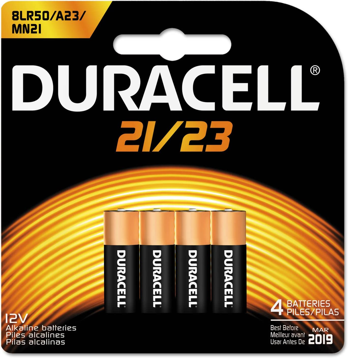Office Realm Cheap super special price Duracell MN21B4PK Batteries CopperTop with lowest price Alkaline