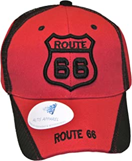 Historic Route 66 Mother Road Premium Hat - Baseball Cap