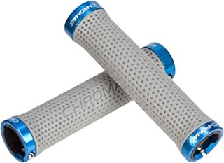 Chromag Basis, Lock Grips, Gray/Blue, 142mm