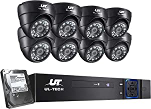 UL-TECH Home Security Camera System 1080P CCTV Surveillance Camera Baby/Pet Monitor with 20m Night Vision,Powerful 5-In-1 ...