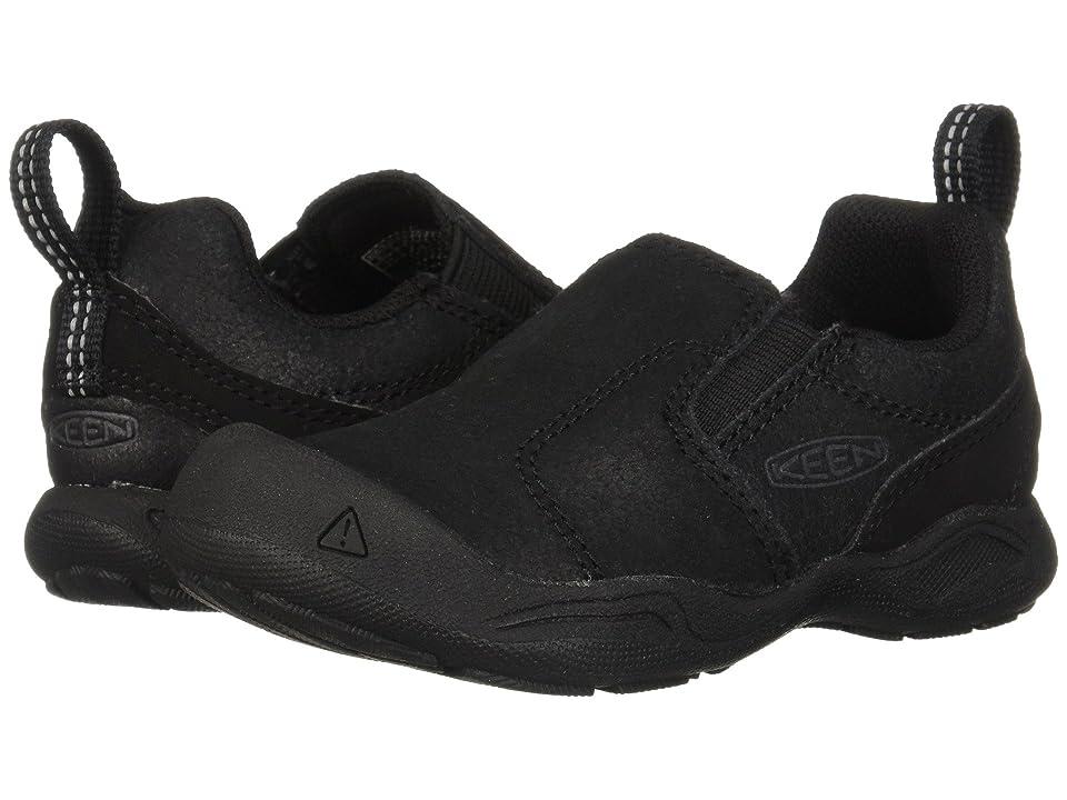 Keen Kids Jasper Slip-On (Toddler/Little Kid) (Black/Raven) Kids Shoes