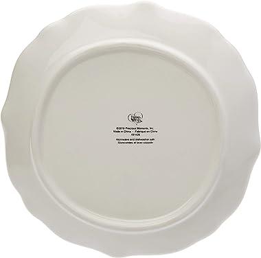 Precious Moments Set of 4 Snowman 191426 Dessert Plate, One Size, Multi