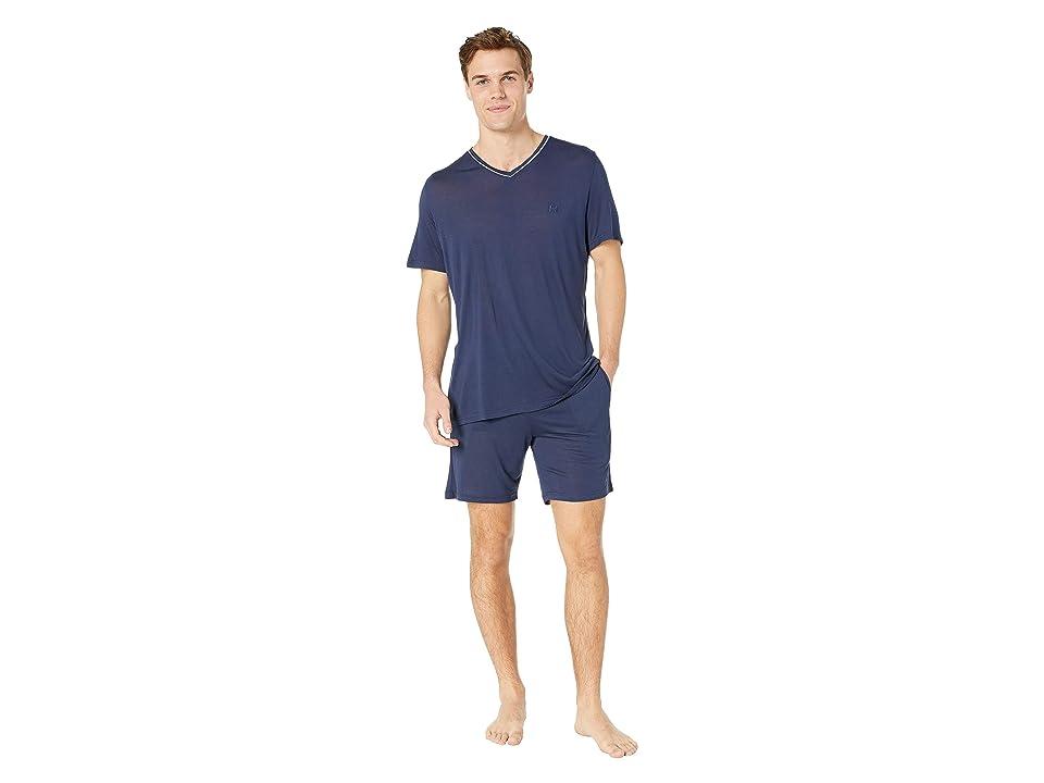 HOM Relax Short Sleepwear (Navy) Men