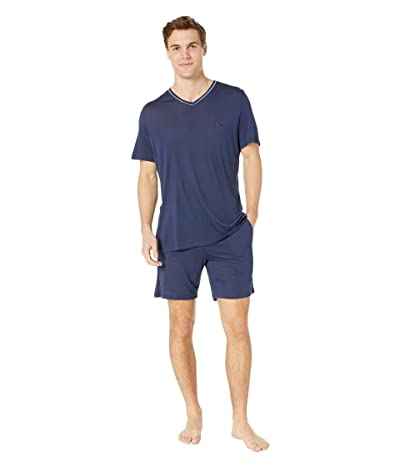 HOM Relax Short Sleepwear (Navy) Men