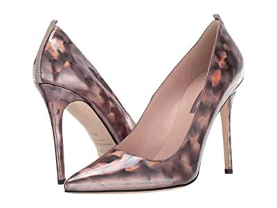 SJP by Sarah Jessica Parker Fawn 100mm (Pewter Prismatic) Women