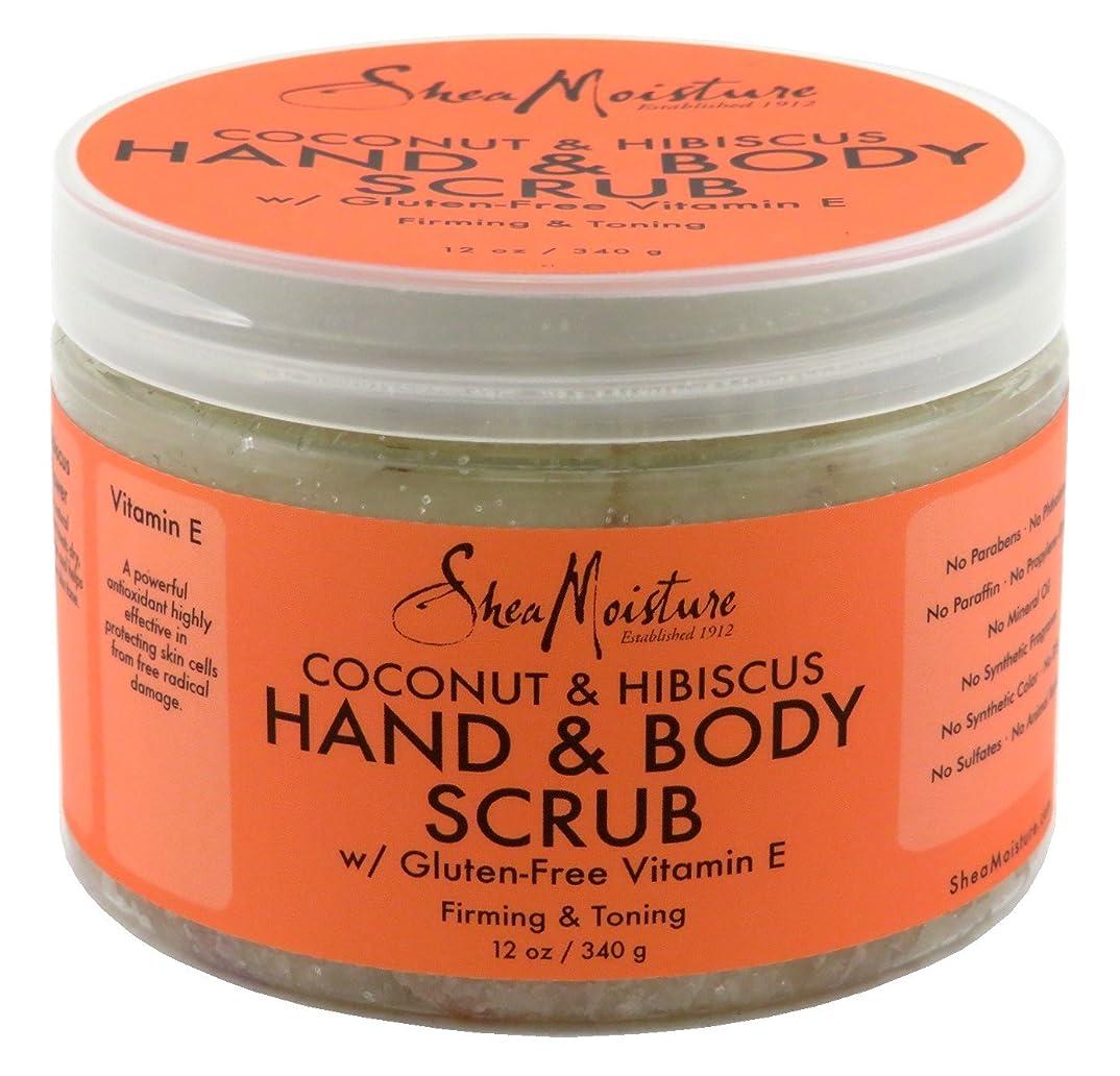 占めるテロリストコールドShea Moisture Body Scrub Coconut and Hibiscus by Shea Moisture