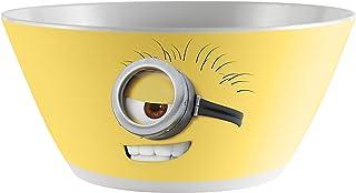 Zak! Designs Tazón para Cereal con Gráficas de Minions Despicable Me 2, Melamina Libre de BPA