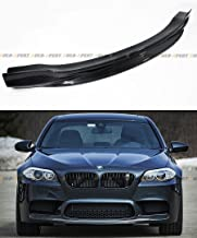 R Style Carbon Fiber Front Bumper Center Chin Lip Spoiler Fits for 2012-2017 BMW F10 M5