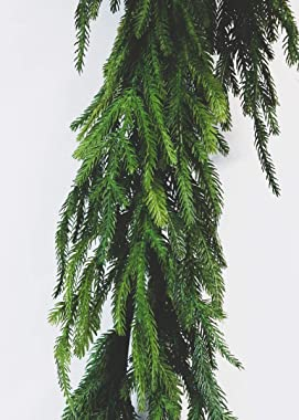 """Afloral Real Touch Norfolk Pine Garland - 60"""""""