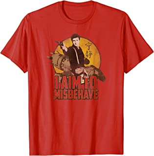 Firefly I Aim to Misbehave T Shirt T-Shirt