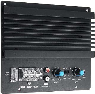 Fantexi Automotive Amplifier Module,12 Voltage Large Power Car Audio Amplifier Powerful Bass Subwoofer Amplifier Board Aut...