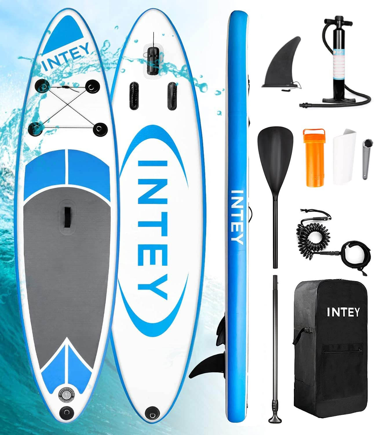 Inflatable Stand Up Paddle Max 46% OFF Board Daily bargain sale with Portable Sto All-Round SUP