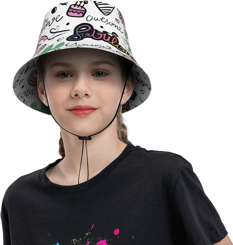 Sun Hats for Boys Girls Unicorn Fashion Hearts and Bea Great interest Candy Bucket