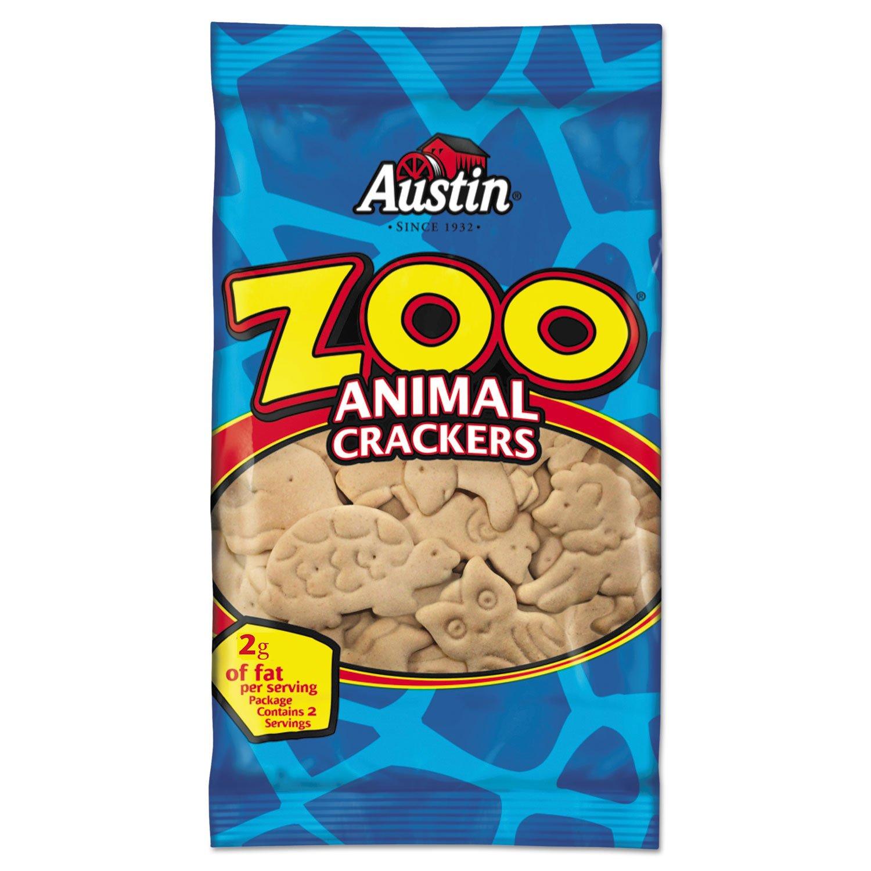 Austin 40975 Zoo Animal Crackers Pack Original Virginia Beach Mall 80 Nashville-Davidson Mall 2oz Carton