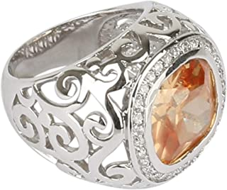 For Women, Cubic Zirconia Fashion Ring, alloy - 9