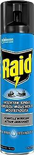 Raid Paral Insektenspray, Mückenspray, Mückenschutz, gegen Fliegen und Mücken und andere Insekten, 400 ml