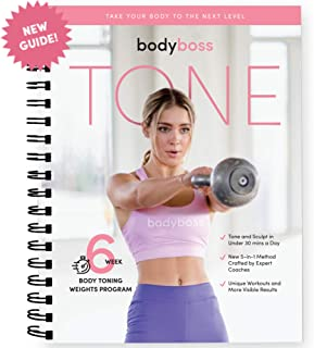 BodyBoss Tone Guide. Weight & Strength Workout Training for Women.