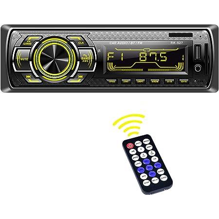 Autoradio LSLYA Autoradio Bluetooth Stereo, 4X60W, 1 Din Autoradio