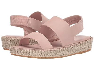 Cole Haan Cloudfeel Espadrille Sandal (Mahagony Rose Nubuck/Natural Jute/Gum) Women