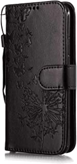 Leather Cover Compatible with Samsung Galaxy S10 5G, black Wallet Case for Samsung Galaxy S10 5G
