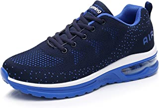 RomenSi Men's Air Cushion Sport Running Shoes Casual Athletic Tennis Sneakers US6.5-11.5