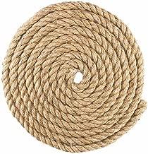 Twisted Manila Hemp Rope (1 Inch x 10 Feet)